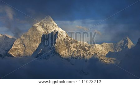Ama Dablam Before Sunset