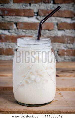 White Milk Frappe