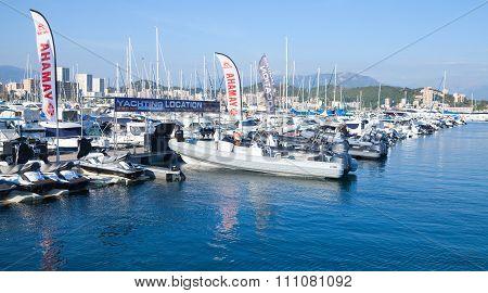 Sailing Yachts And Pleasure Motor Boats, Ajaccio