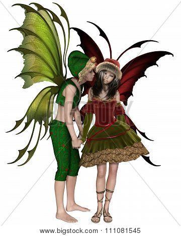 Christmas Fairy Kiss