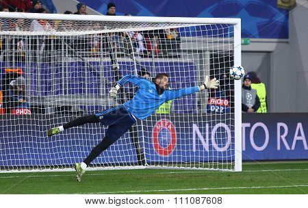 Goalkeeper Kiko Casilla Of Real Madrid