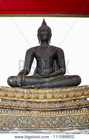 The Black Buddha Statue