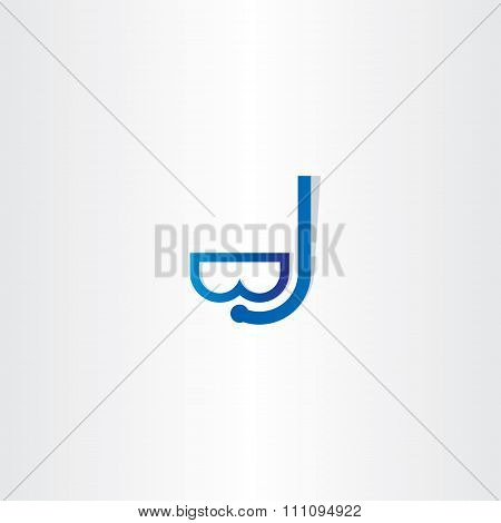 Diving Mask Icon Vector Design