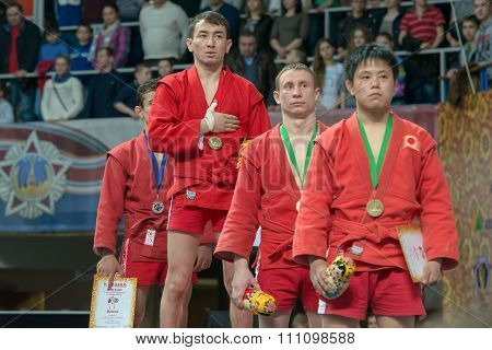 Winners Of The World Cup Memorial A. Kharlampiev In The Weight Category M