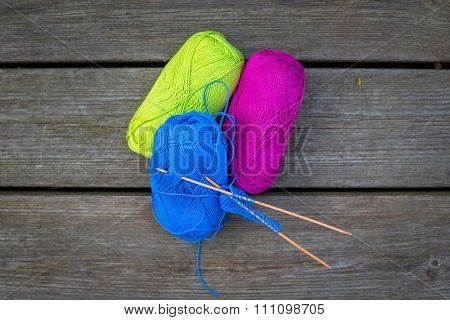 Colorful Wool For Knitwear
