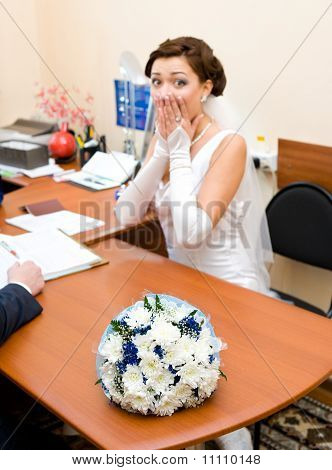 Bride Is Afraid Of Getting Married