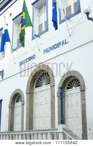 City Hall In Angra Dos Reis
