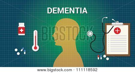 dementia disease human brain head medicine
