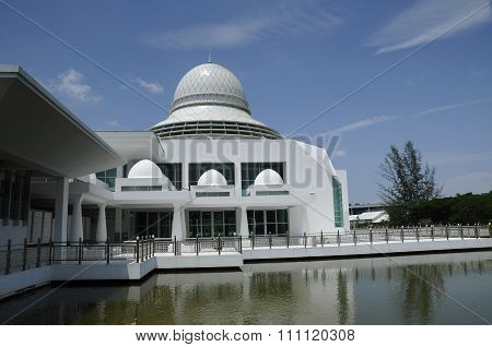 An-Nur Mosque or UTP Mosque in Malaysia