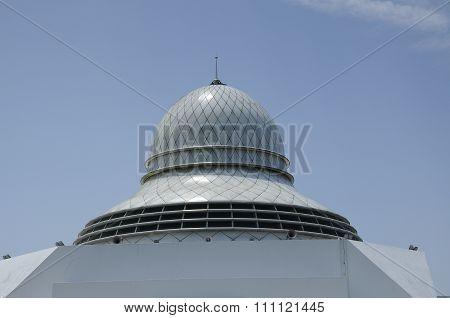 Dome of An-Nur Mosque a.k.a Petronas Technology University Mosque