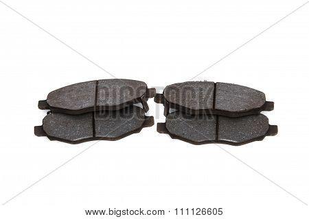 Close Up Of Brake Pad