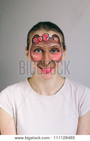 Monkey Face Painting