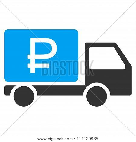 Rouble Shipment Icon