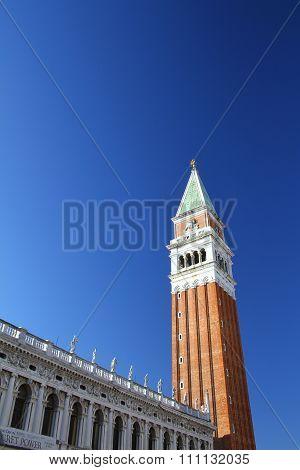 St Mark's Campanile. Venice