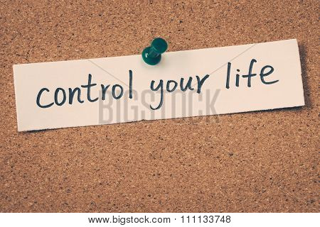 Control Your Life
