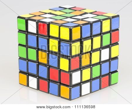 Colored Cube Close Up