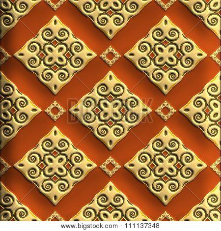 Plastic background tile