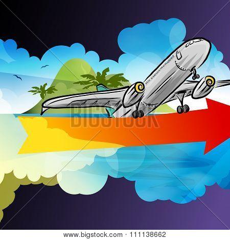Departure arrival card