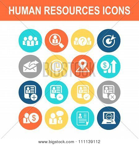 Business Human Resource Icon