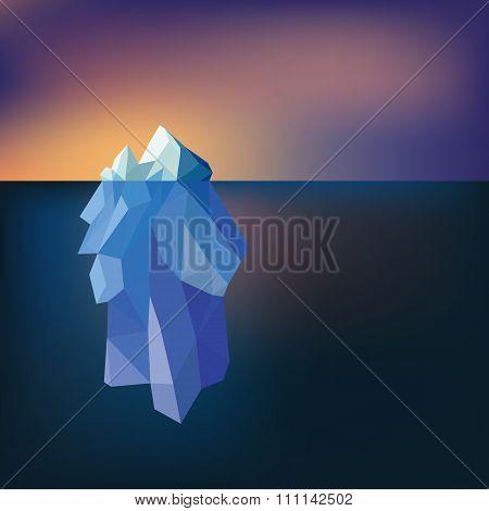 Low Poly Iceberg