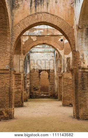 The Interior Of Chellah Which Is The World Heritage In Rabat