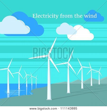 Electricity From Wind Design Flat