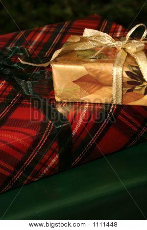 Christmas Gift Pile
