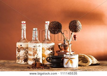 The coffee decorations