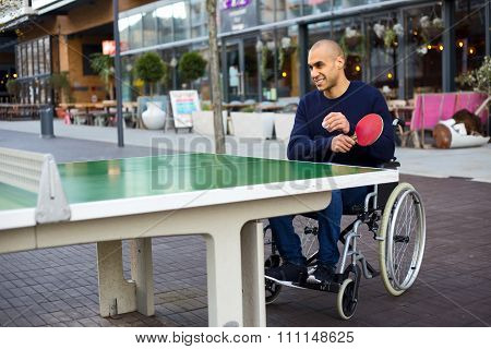wheelchair playing