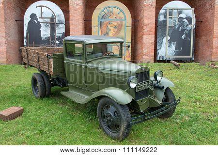 Gaz-mm Truck Was Released In July 1941