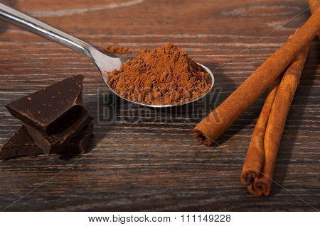 Cocoa, Chocolate And Cinnamon