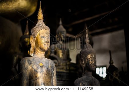 Buddha Statue - Luang Prabang, Laos