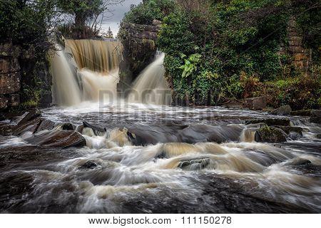 Penllergare Waterfall
