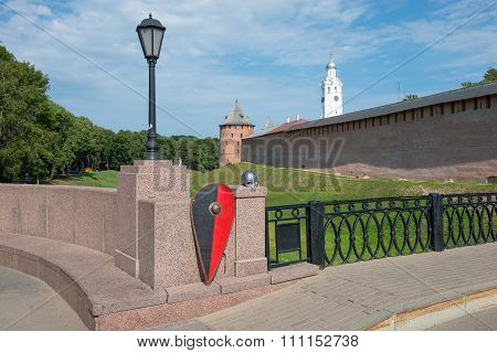 The Kremlin (detinets). Great (veliky) Novgorod