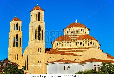 Agioi Anargyroi Orthodox Cathedral In Paphos - Cyprus