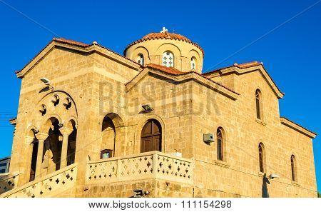 Church Of Panagia Theoskepasti In Paphos - Cyprus