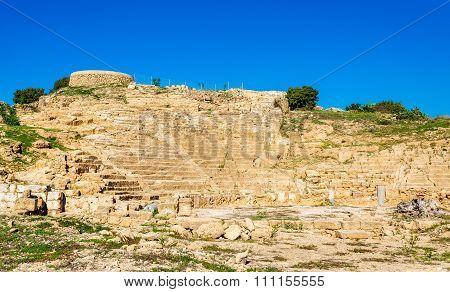 Ancient Hellenistic Amphitheatre In Paphos - Cyprus