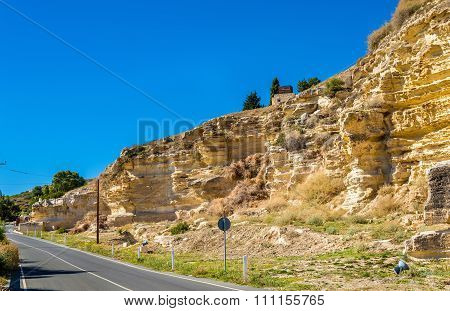 Road To The Ancient City Of Kourion - Cyprus