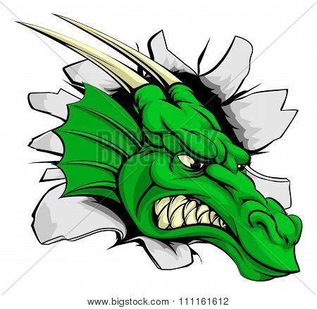Dragon Sports Mascot Breakthrough