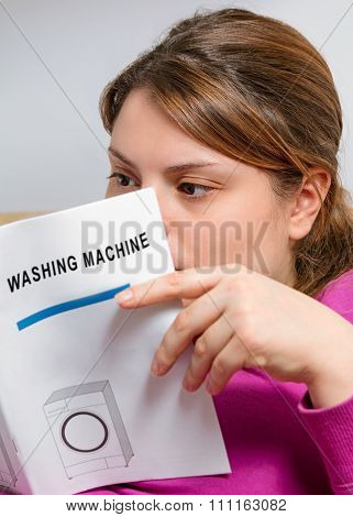 booklet of washing machine