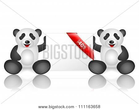 Pandas 40 Percentage Off