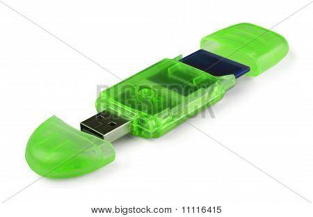 Green-Card-Reader