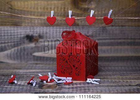 Paper Valentine Decorations
