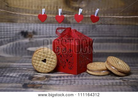 Valentine Box And Pastry