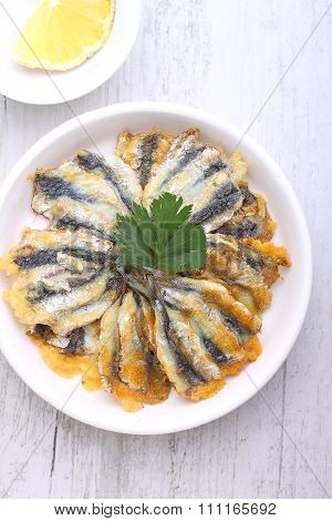 Anchovy Fritters, Odessa Cuisine