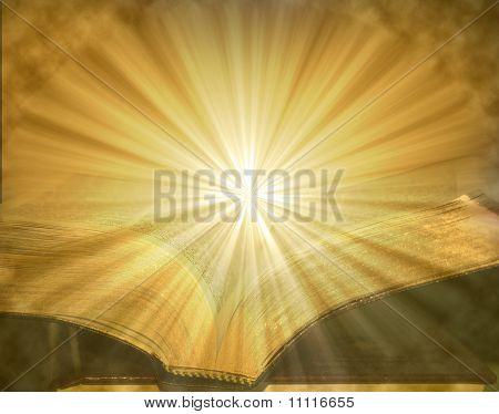 Brilhantes páginas de uma Bíblia