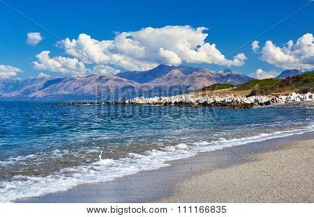 coast of island of Corfu
