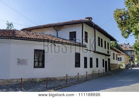 Razgrad town, street and house