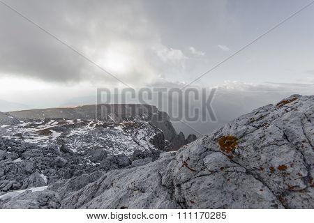 Rocks plateau