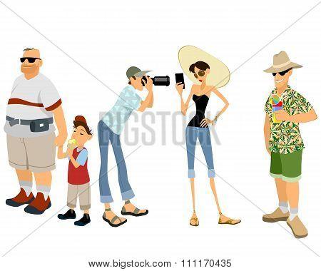Funny Tourist Set